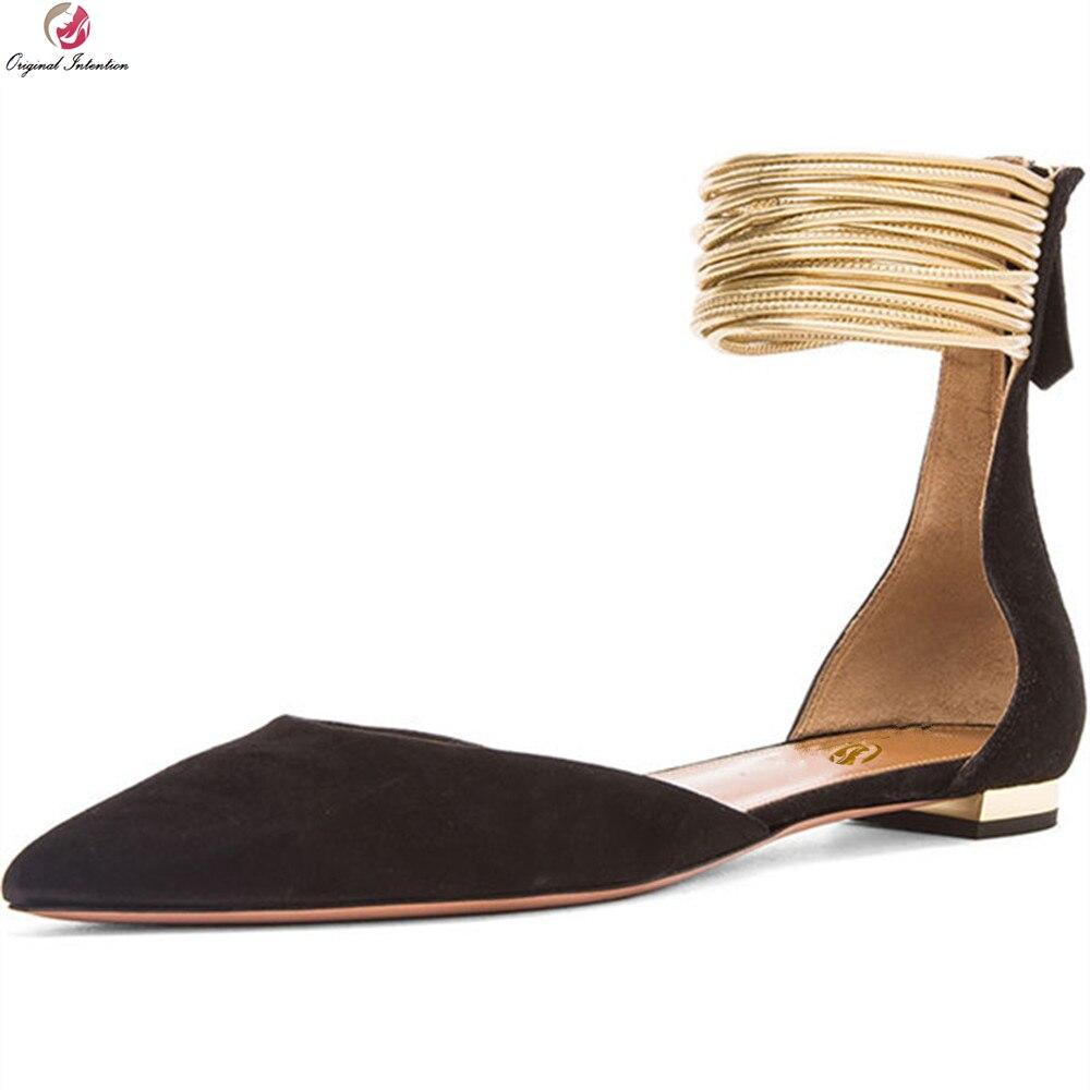 Punta En 3 Intención uu Negro 5 Talón Cubierta 10 Con Ef00981 ef00982 Sandalias Tamaño Ejército Mujeres Plano Verde Mujer Ee Tacones Original Más Zapatos HYxwq0dq