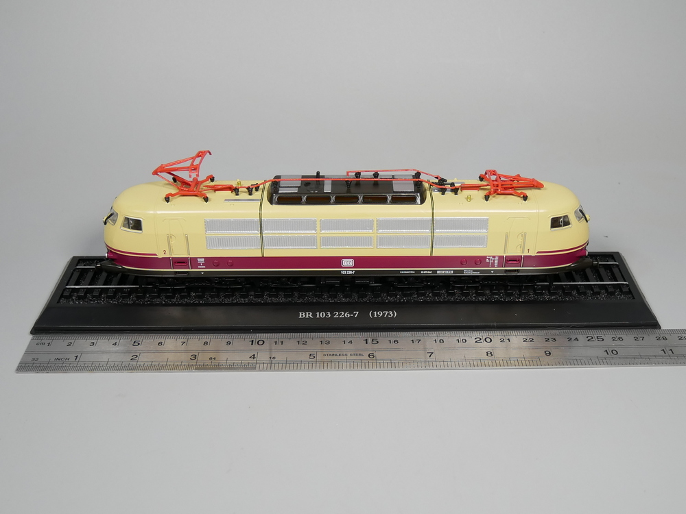 Ho scale model Atlas 1:87 Train BR 103 226-7 1973 Diecast model Train
