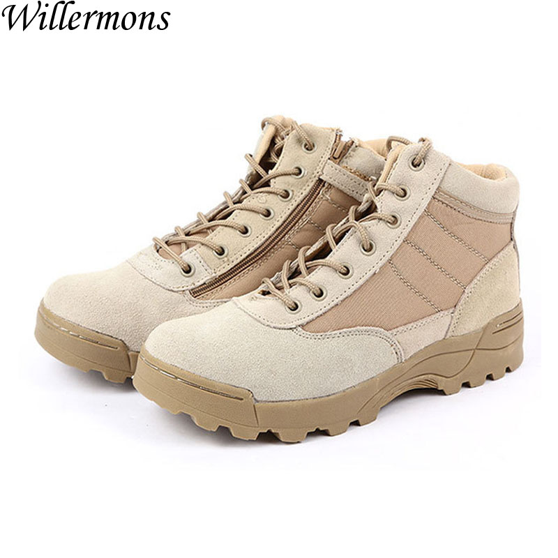Special Force Army Men's Low Top Outdoor Hiking Combat Boots Shoes Men Military Climbing Sneakers Shoes For Trekking winter men s anti slip warm outdoor high top hiking sports boots fur shoes men army wearable climbing sneakers shoes camping