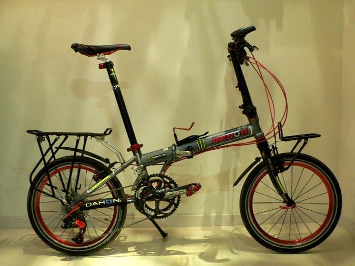 Folding Bike Bicycle Cycling Rear Rack Bag Panniers Racks Fenders