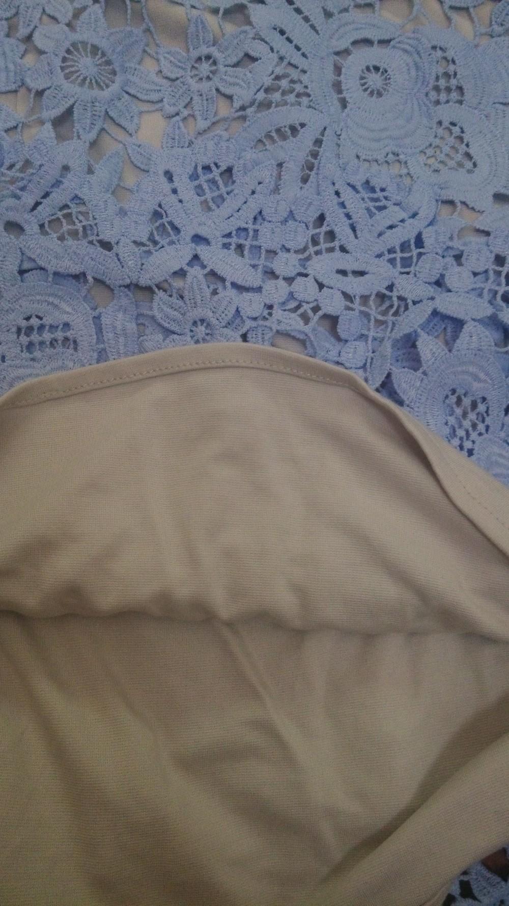 Self Portrait Same style Blue White Dress 2015 New Summer Style Side ... e3a42c2d0