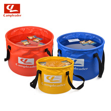 2016 New Brand Outdoor Camping Water Buckets 10L-30L Hiking Camping Folding Washing Foldable Water Buckets 6001
