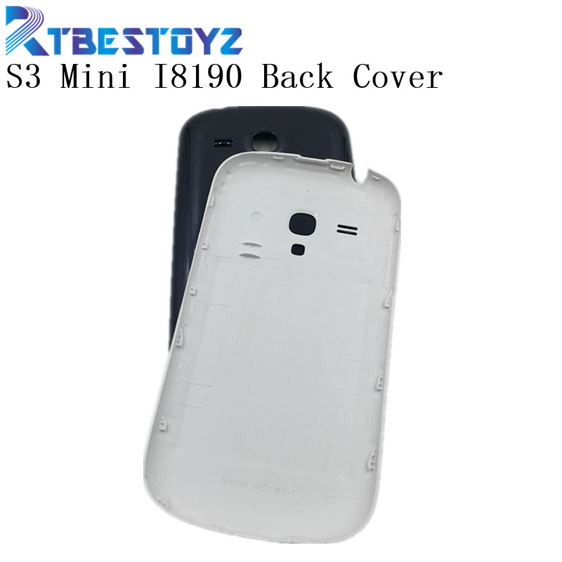 RTBESTOYZ S3MINI <font><b>Back</b></font> Cover For Samsung S3 Mini Door Housing For Samsung Galaxy S3 Mini <font><b>I8190</b></font> <font><b>Battery</b></font> <font><b>Back</b></font> Cover Rear Case image