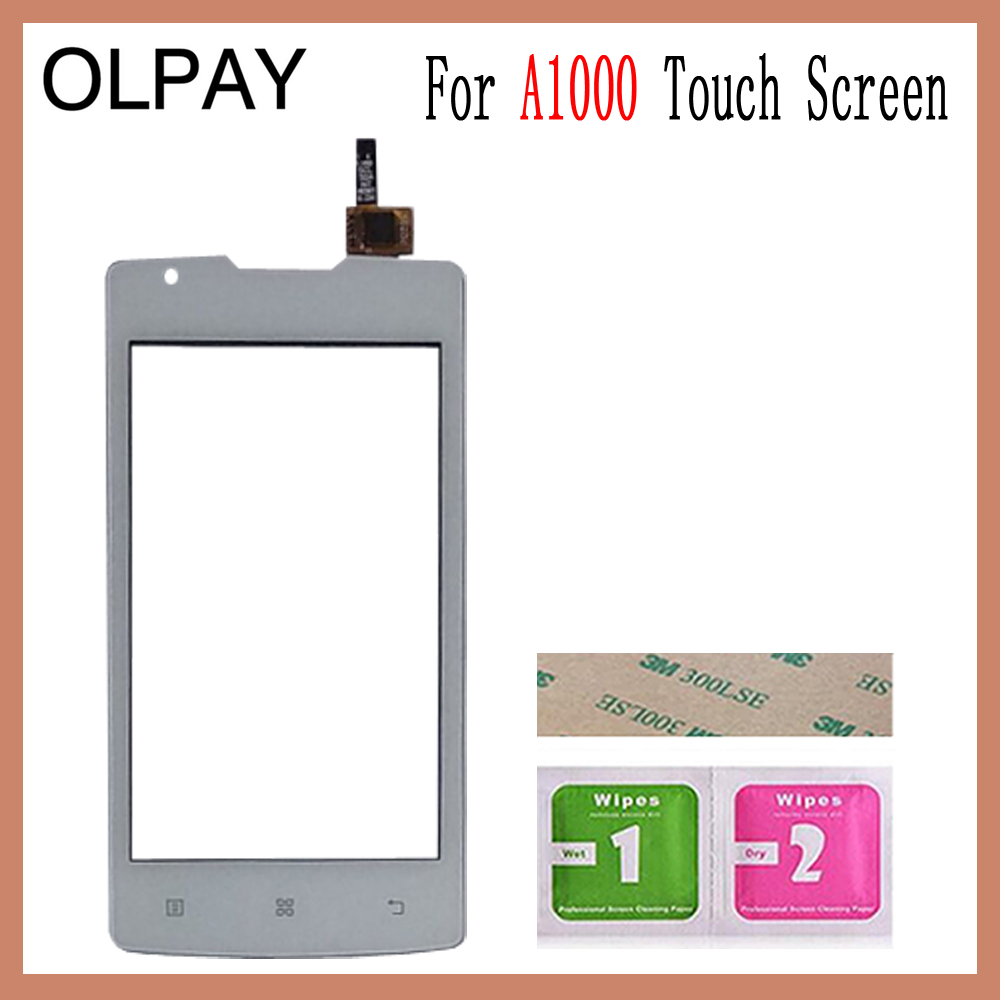 Image 5 - OLPAY 4.0 inch For Lenovo A1000 A 1000 Touch Screen Glass Digitizer Panel Touch Screen Front Glass Lens Sensor Tools-in Mobile Phone Touch Panel from Cellphones & Telecommunications