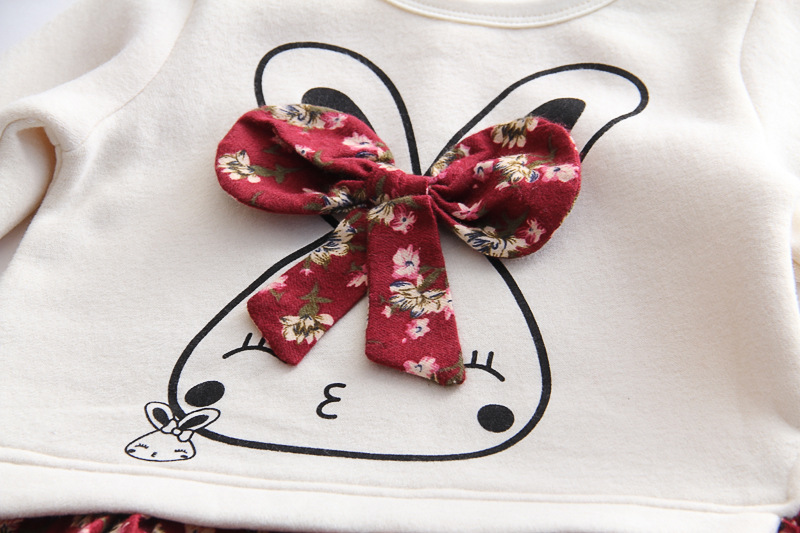 HTB14.Tmao rK1Rjy0Fcq6zEvVXah Humor Bear Girls Dress Spring Autumn Flower Princess Dress Brand Girls Clothes Children Clothing Cute Animal Style Girls Dresses