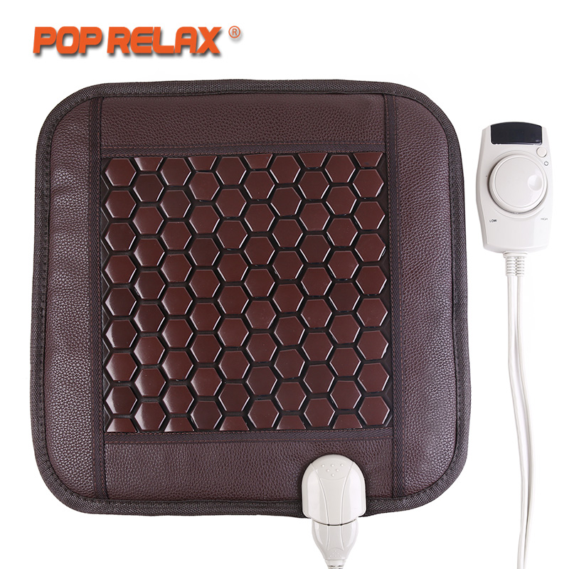 все цены на POP RELAX Korea Seat Mattress Health Care Tourmaline Germanium Heating Pad Ion Thermal Physiotherapy Stone Mat Thermal Mattress