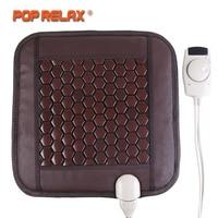 POP RELAX Korea Seat Mattress Health Care Tourmaline Germanium Heating Pad Ion Thermal Physiotherapy Stone Mat Thermal Mattress
