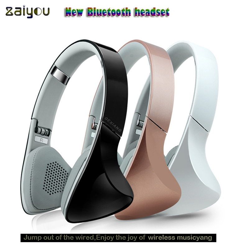 best Headphones Wireless Bluetooth CSR 4.1 Headphone Built-in Mic Soft Earmuffs Noise Cancelling Headset Stereo Sound For Phone fineblue f 458 bluetooth 4 0 mono stereo headset and car charger 2 in 1 wireless noise cancelling earphone with mic for driving