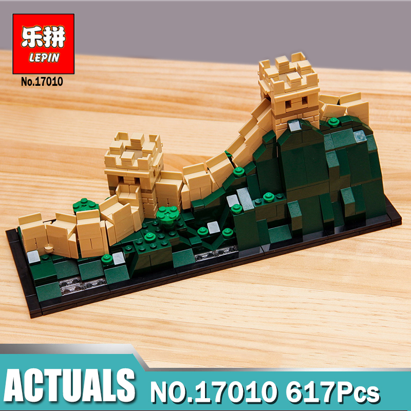 Lepin Architecture 17010 Great Wall of China compatible Legoing 21041 Architecture Series Building Blocks Bricks Toys For Kids penser l architecture