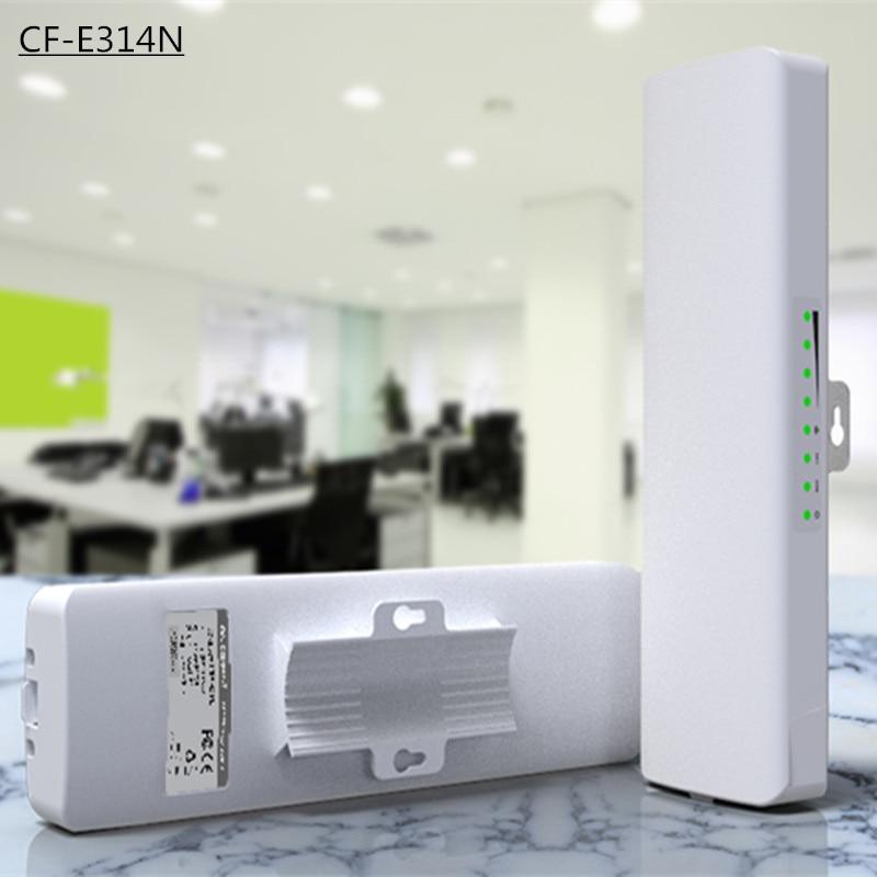 ФОТО COMFAST CF-E314N 300Mbps High Power Outdoor Wireless AP/CPE Bridge with Panel Antenna 14dBi High Gain Wifi antenna Receiver 2KM