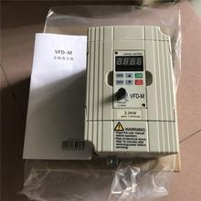 جديد 2.2 KW VFD022M43B 3 المرحلة 380 فولت إلى 460 فولت تصنيف 5 أ 2200 واط