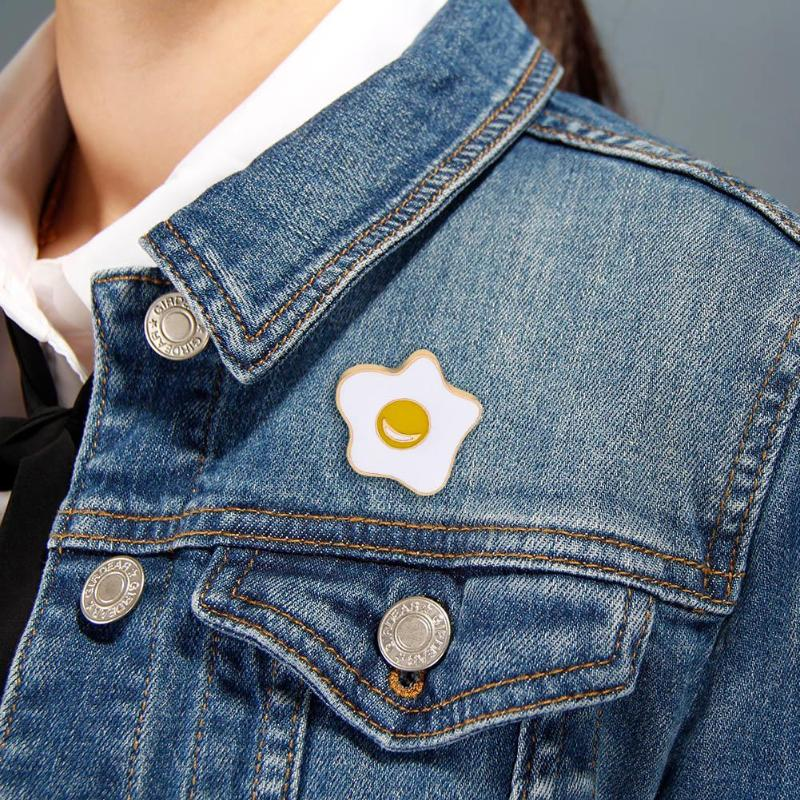 Fashion Tree House Enamel Brooch Pin Trendy Denim Jacket Collar Bag Pin Badge Jewelry For Girls Boys By Scientific Process Brooches