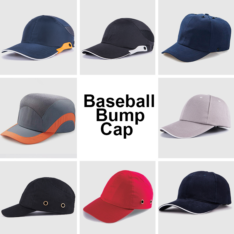 Fashion Baseball Bump Cap Safety Hard Hat Head Protection Cap Adjustable Protective Hat unique digital pattern embellished baseball hat