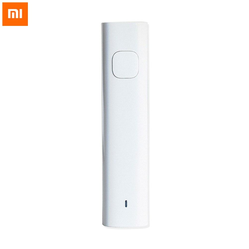 D'origine Xiaomi Bluetooth Audio Récepteur Adaptateur Filaire À Sans Fil Médias Adaptateur Pour 3.5mm Écouteurs Casque Haut-Parleur De Voiture Aux