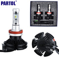 X3 Partol H11 H8 H9 Car LED Headlight Bulbs 50W 6000LM CREE Chips All in one CSP LED Headlamp Fog Light 3000K 6500K 8000K 12V