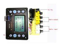 9 12 V power conversion board 4.2 บลูทูธอินพุตเสียงการบันทึกวิทยุเนื้อเพลงจอแสดงผล APE, FLAC, WMA, WAV, MP3 ถอดรหัส