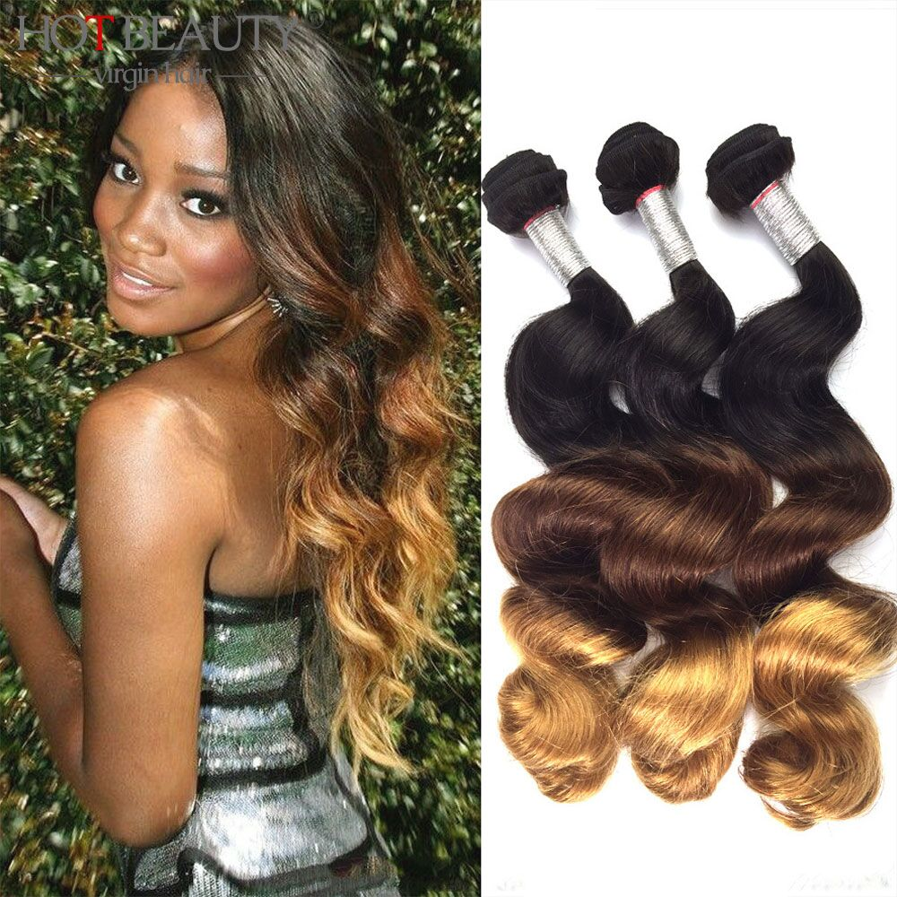 Aliexpress buy ombre brazilian hair 3 tone ombre hair aliexpress buy ombre brazilian hair 3 tone ombre hair extensions brazilian virgin hair loose wave aliexpress uk hot beauty hair 3pcslot from reliable pmusecretfo Gallery