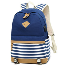 Bolsa mochilas feminina escolar zaino femminile usb sacchetti di scuola per le ragazze adolescenti zaino delle donne 14 computer portatile zaino set