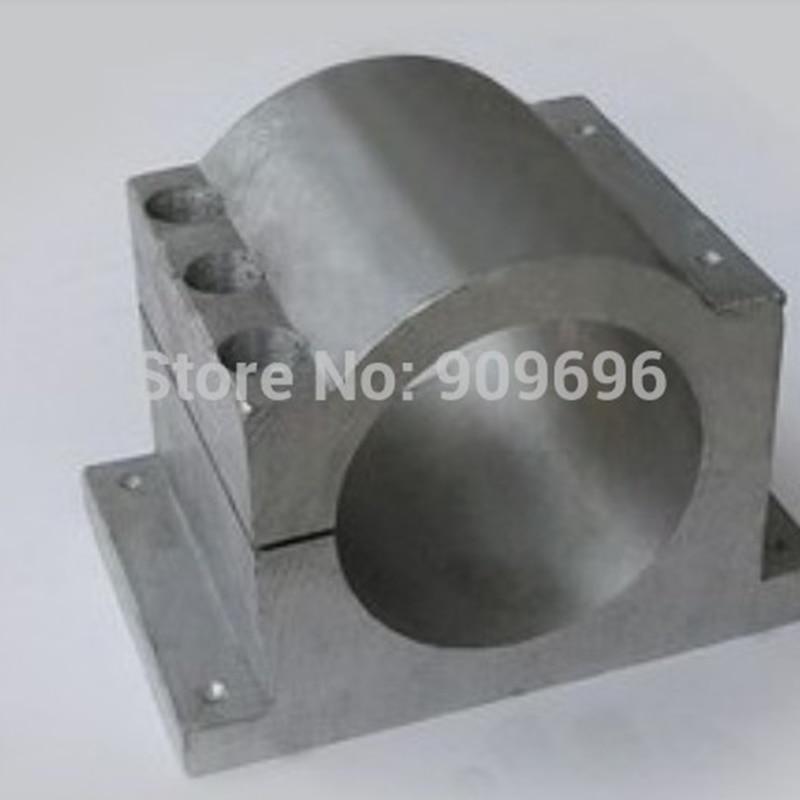spindle motor mount bracket Clamp 80mm diameter Top quality , Free shipping 1193 motor mount bracket spindle fixed seat clamp 80mm diameter