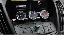 1 Piece Exquisite Car Mechanics Quartz Clock Digital Pointer for Auto Decoration Supplies Car Mechanics