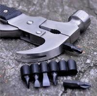 Kacy Инструменты Многофункциональный Открытый Молотки Инструменты Отвёртки Щипцы для наращивания волос multi Инструменты HW003