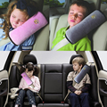 children Baby Auto Pillow Car Safety Belt Protect Shoulder Pad adjust Vehicle Seat Cushion for Kids Baby Playpens