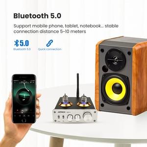 Image 4 - AIYIMA Bluetooth 5.0 HiFi 6J1 Tubo A Vuoto Amplificatore Preamplificatore Stereo Preamplificatore Con Alti Bassi di Controllo Per La Casa Suono Theater
