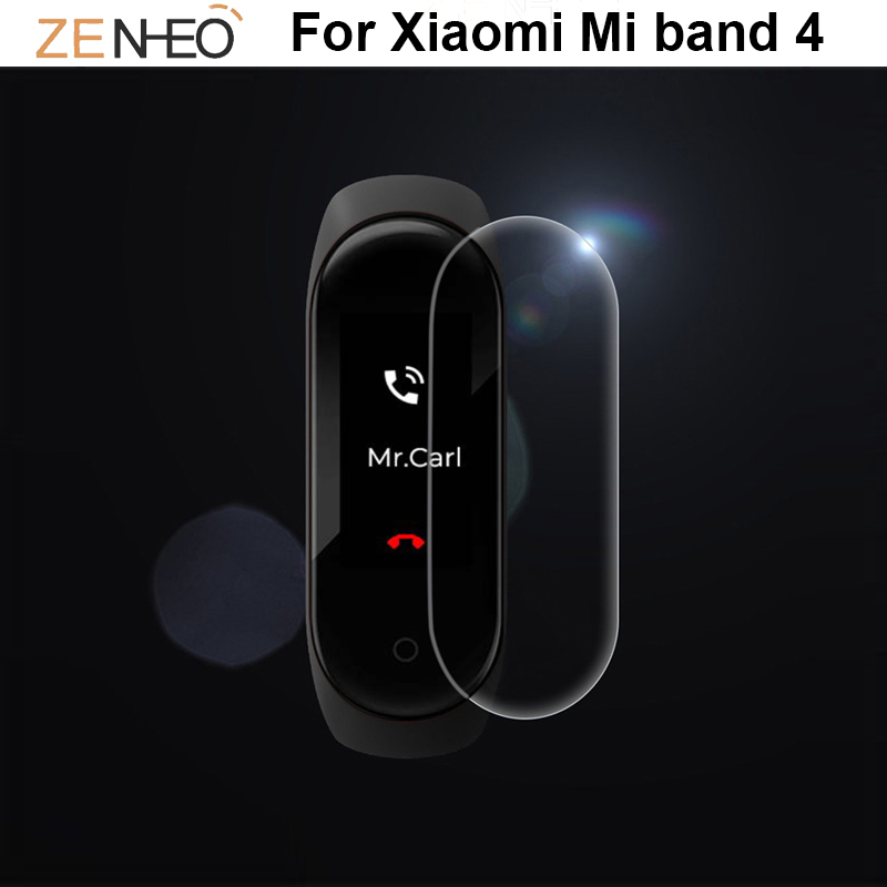 For Xiaomi Mi Band 4 Watch Protector Film Full Cover Ultra Thin HD Screen Protective Film Not Tempered Glass Smart Accessories