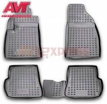 Коврики чехол для Ford Fusion 2002-2009 4 шт. Коврики Резиновые Нескользящие резиновые подкладке Тюнинг автомобилей аксессуары