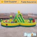 Надувные Biggors Fantasty Надувные Комбо Слайд Отказов Дом Препятствий Детей Игровая Площадка