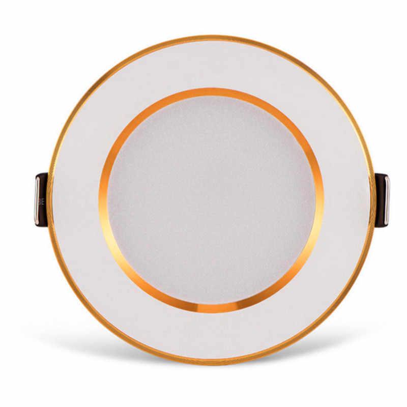 15 W светодиоидная лампа с регулируемой яркостью светодиодный светильник AC110V 230 V 5 W 10 W светодиодный лампочка круглый встраиваемый светильник Светодиодный прожектор для Ванная комната Кухня в помещении