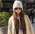 2016 Осень и зима бесплатная доставка моды корея стиль Шерстяная шапочка вязаная мода мужские модные аксессуары