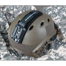 TRIJICON тактический страйкбол шлем с подсветкой шлем вспышка светильник с 2 цветовым режимом наружный Пейнтбольный шлем аксессуар PP15-0063