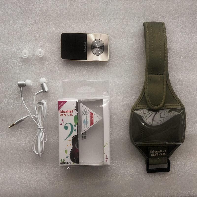 Brand Idealist Metal MP3 MP4 Player 4GB/8GB/16GB Video Sport MP4 Flash HIFI Slim MP4 Video Player Radio Recorder Walkman Speaker 20
