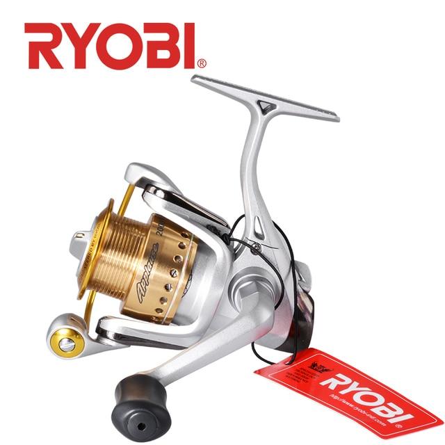 100% original RYOBI Applause sipnning fishing reel 1000 2000 3000 6+1BB gear ratio5.1:1/5.0:1max drag 2.5~5.0kg metal spool