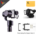 Free DHL or EMS ! Zhiyun  Z1-Evolution 3-Axis Handheld Stabilizer Brushless Gimbal for GoPro Hero 5 4 3+ 3 SJ4000 SJ5000 Cameras