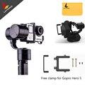 Livre DHL ou EMS! zhiyun z1-evolution 3-axis handheld brushless gimbal estabilizador para câmeras gopro hero 5 4 3 + 3 sj4000 sj5000