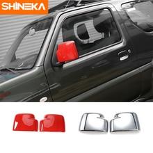 SHINEKA High Quality Car Rearview Mirror Cover Car Accessories for Suziki Jimny 2007+