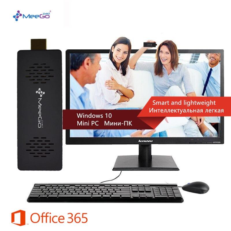 MeeGOPad T03 Pro 2GB/32GB Licenced Windows 10 With Intel Cherry Trail X5-Z8300 WIFI Bluetooth HDMI TV Box Small Computer Stick мобильный телефон lg g flex 2 h959 5 5 13 32 gb 2 gb gps wcdma wifi