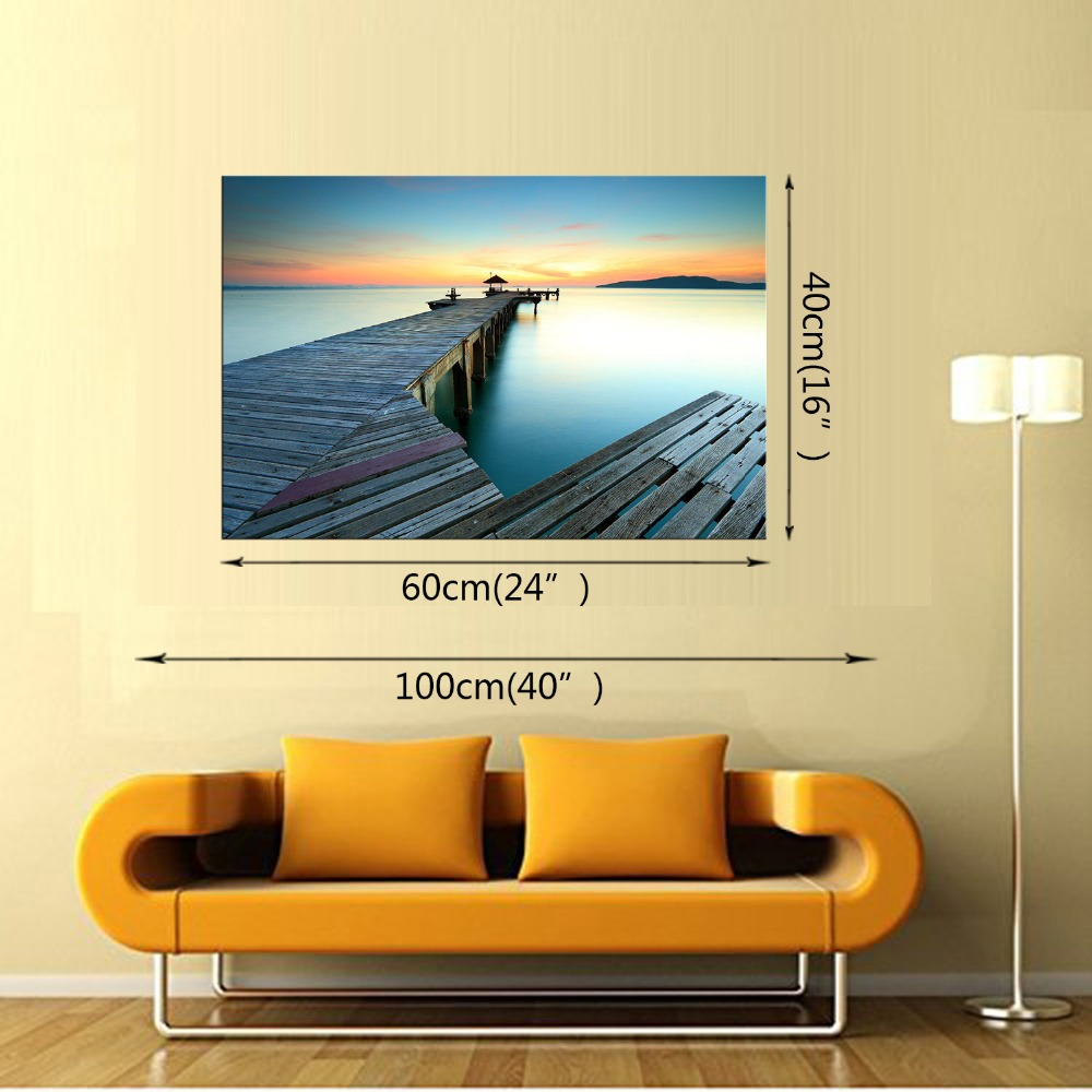 1 Panel Free shipping ocean Scenery Canvas Print Painting Modern ...