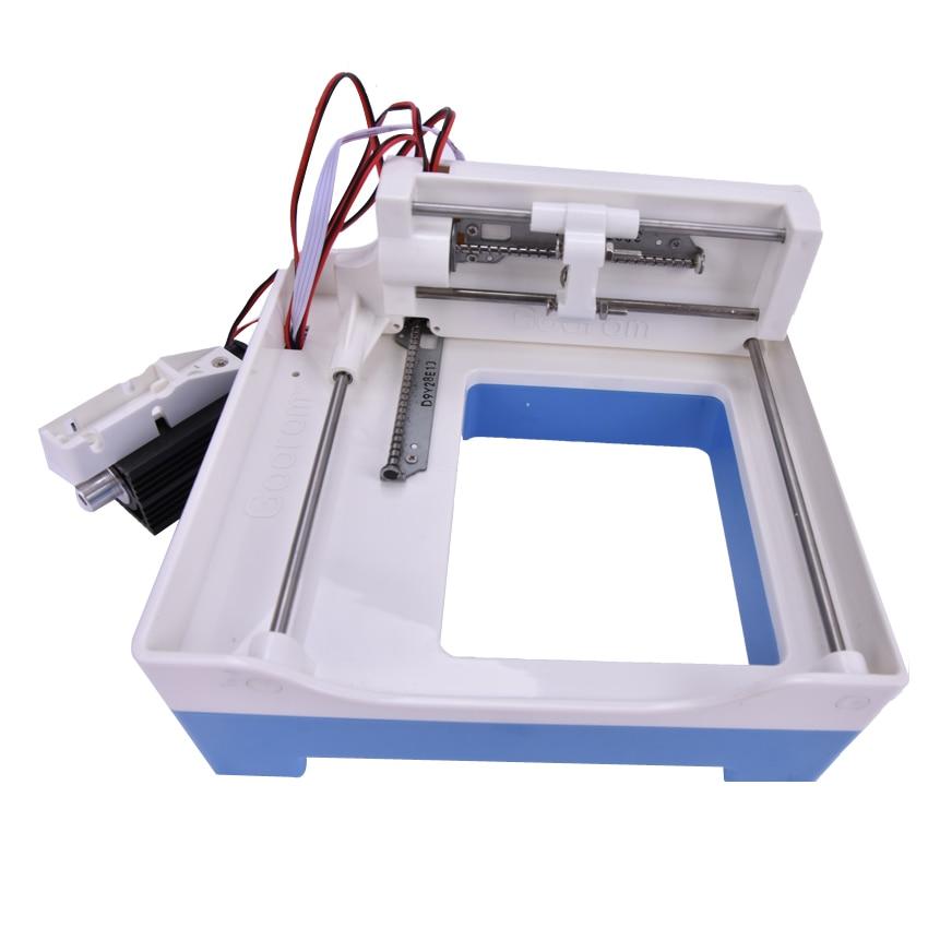 Nuova mini macchina per incisione laser Incisore laser fai-da-te - Attrezzature per la lavorazione del legno - Fotografia 4