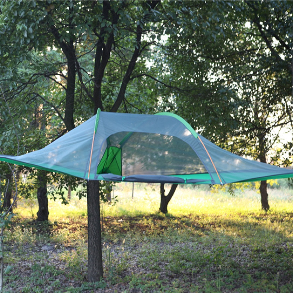 free outdoor c&ing adventure tents c&ing hammocks mosquito nets hammocks suspended tents hanging trees hanging tree tentsin tents from sports with ... & Hanging Tents From Trees. Hanging Tree House Treepod With Hanging ...