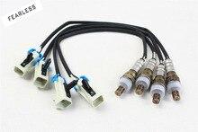 4pcs Oxygen O2 Sensor Up&Downstream For 03 04 05 Chevrolet Silverado 1500 5.3L