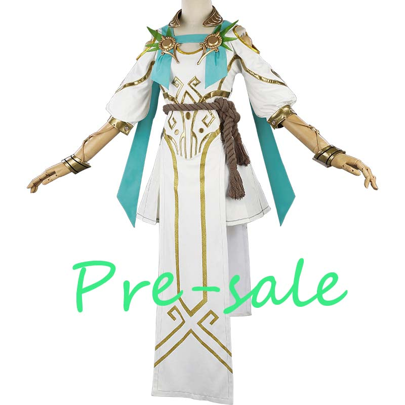 [Pre-sale]Game OW Angel Mercy Summer  Games Skin Goddess of victory Dress Halloween Cosplay costumes for women NEW 2018