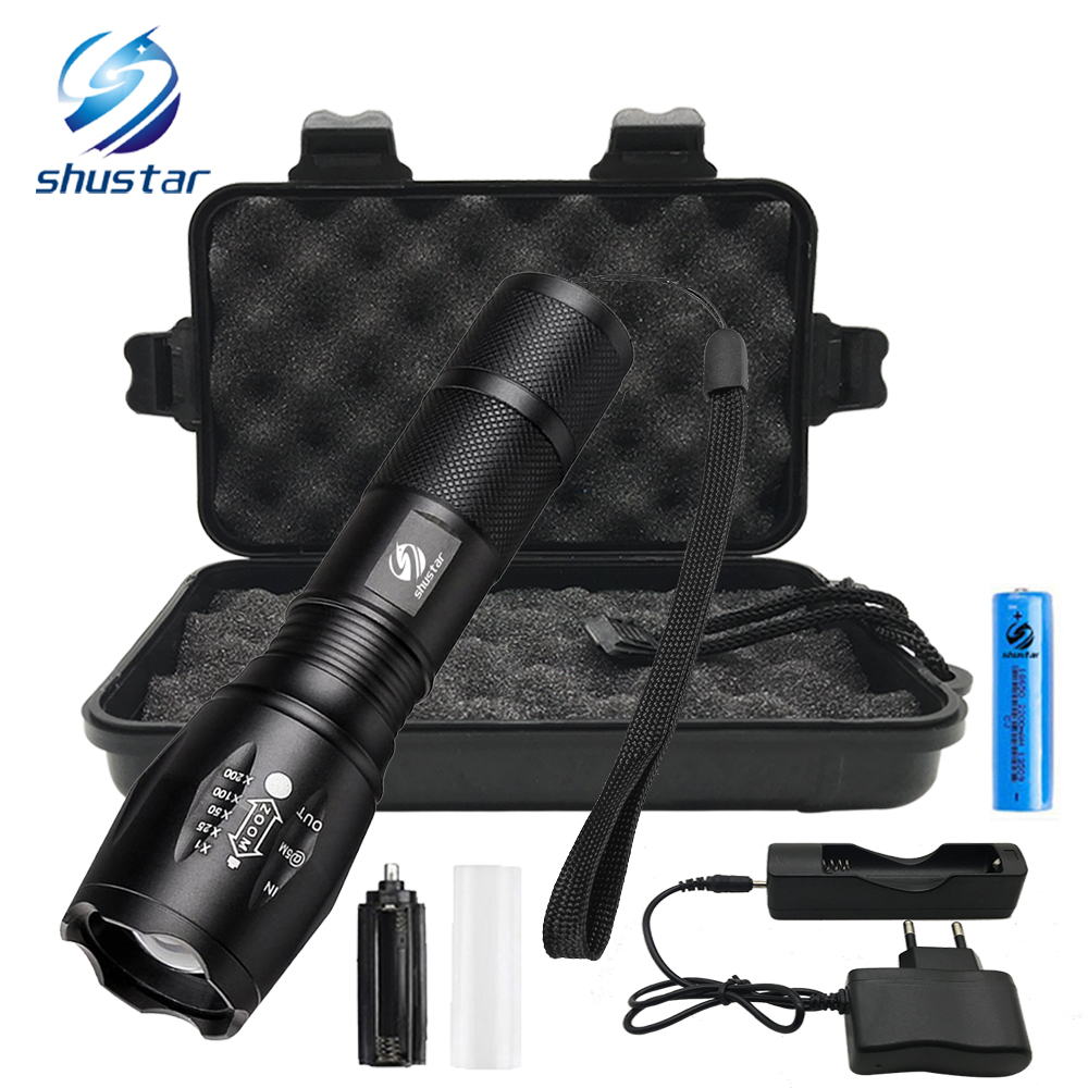 Miglior acquisto ) }}Ultra Bright LED Flashlight 8000 lumens CREE