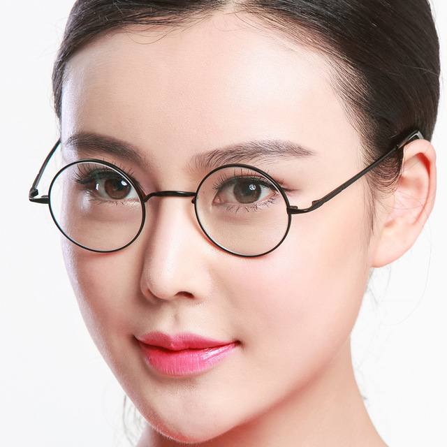 Harley Myopia Circle Glasses Exceed Light Pure Picture Frame Correct Round Ancient Ways The Of China Model Glasses D 8732