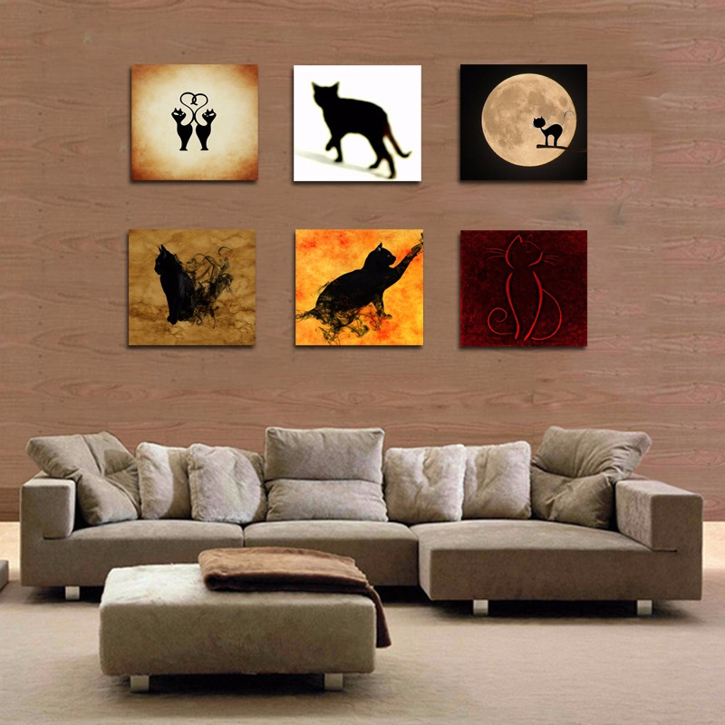 Cat Wall Decor compare prices on cat wall panel- online shopping/buy low price
