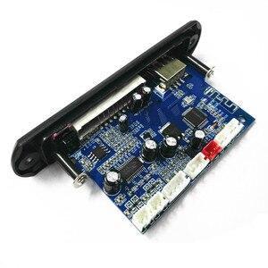 Image 3 - Tenghong MP3 מפענח לוח שני ערוץ מגבר אלחוטי Bluetooth 4.2 FM 10W + 10W 12V Lossless רכב רמקול APP אודיו מקלט