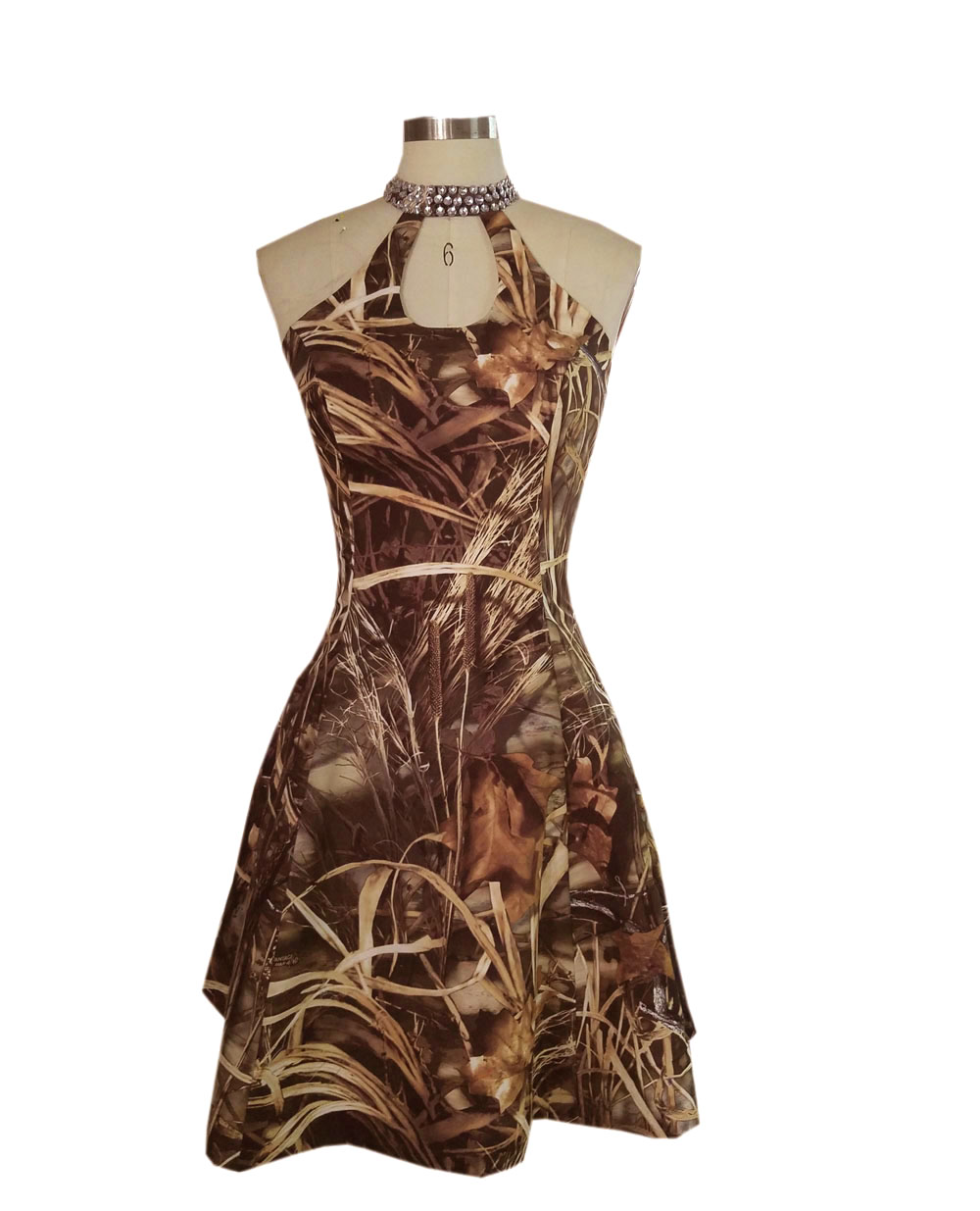 halter realtree max 4 wetland camo formal short   cocktail     dresses   2017 party   dress   new style custom make size 0 or plus size
