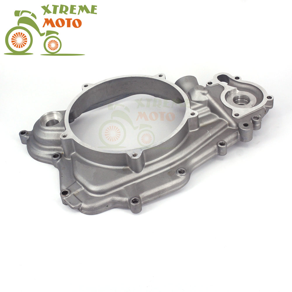 Motorcycle Right Side Crankcase Cover For ZONGSHEN 77MM NC250 250cc KAYO T6 K6 BSE J5 RX3 ZS250GY-3 4 Valves Parts starpad for zongshen 200gy 2 shell zongshen 200gy 2 side cover nakedness desert flying fox side cover housing